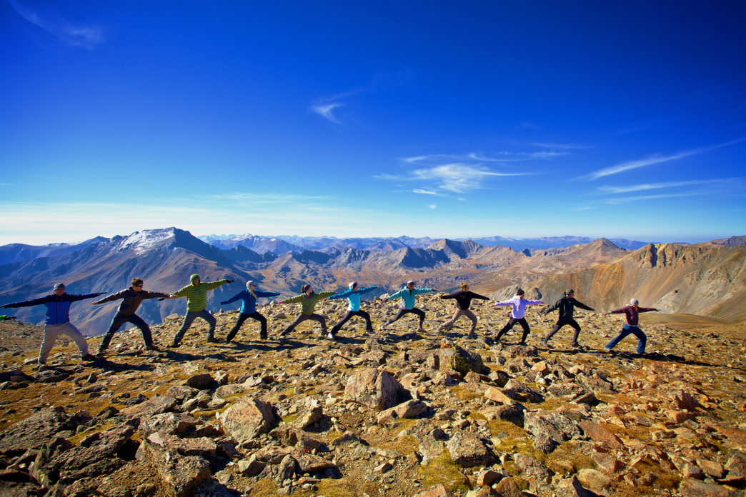 2016 Colorado14er Yoga