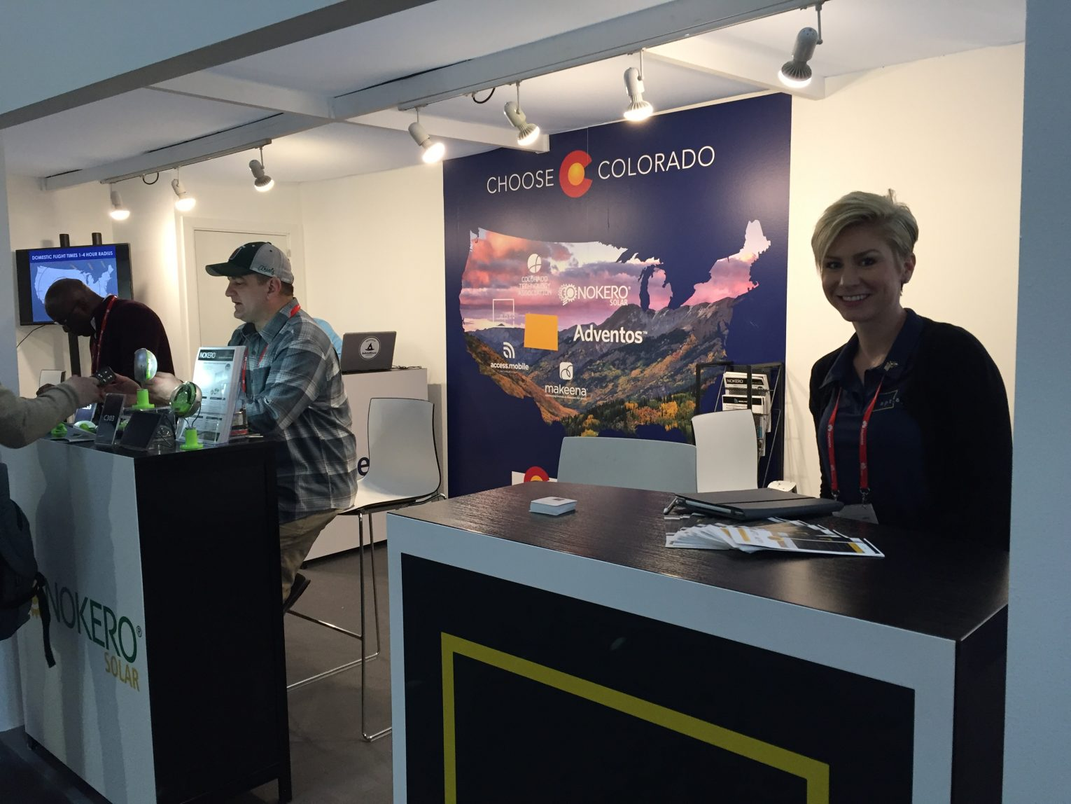 Colorado exhibits at Mobile World Congress